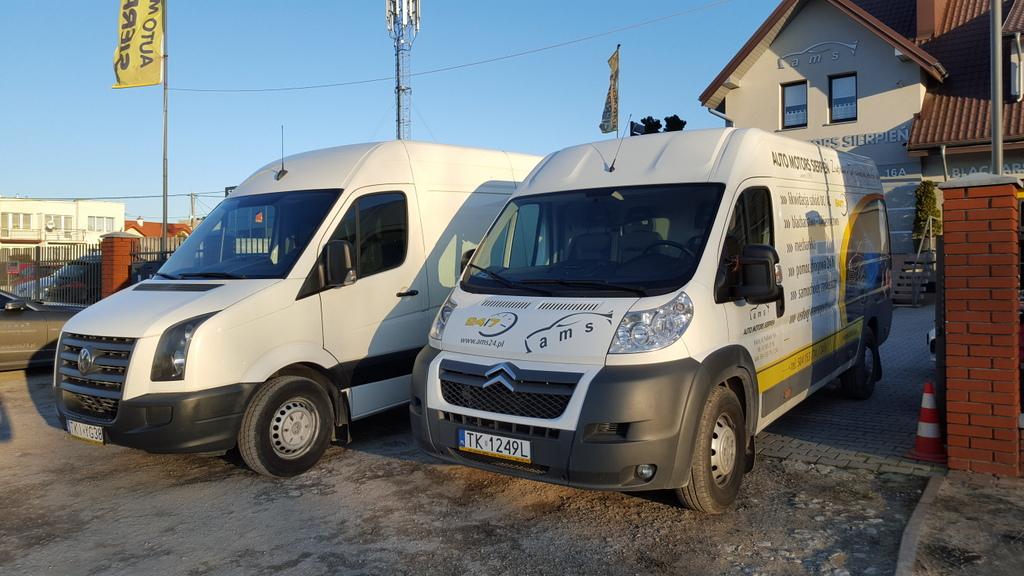 Usługi transporowe od klienta